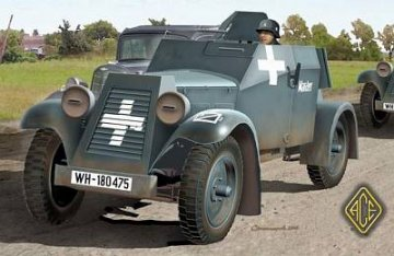 Kfz.13 Maschinengewehrkraftwagen · ACE 72236 ·  ACE · 1:72