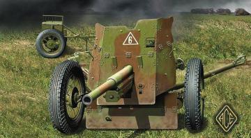 Soviet 45mm AT gun model 1937 · ACE 72242 ·  ACE · 1:72