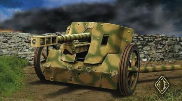 Pak.50 7.5 cm German Anti-Tank Gun · ACE 72246 ·  ACE · 1:72