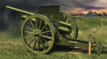 76.2mm (3 inch) Soviet gun model 1902/1930 (with limber) · ACE 72252 ·  ACE · 1:72