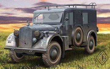 Kfz.17 - uniform chassis medium radio vehicle · ACE 72260 ·  ACE · 1:72
