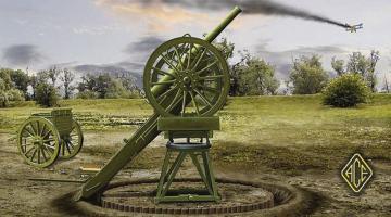 Russian 3 inch WW I AA gun · ACE 72265 ·  ACE · 1:72