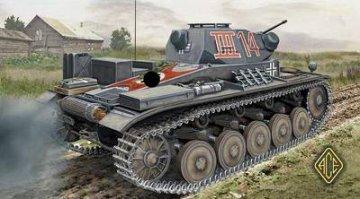 PzKpfw II Sd Kfz. 121 Ausf.C German light tank · ACE 72268 ·  ACE · 1:72