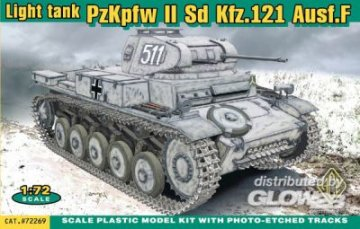 PzKpfw II Sd Kfz. 121 Ausf. F · ACE 72269 ·  ACE · 1:72