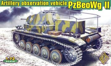 Panzerbeobachtungswagen II artillery observation vehicle · ACE 72270 ·  ACE · 1:72