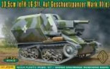10,5cm leFH-16 Sfl.Auf Geschuetzpanzer M · ACE 72293 ·  ACE · 1:72