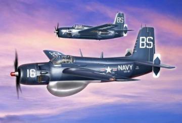 Grumman AF-2W Guardian · ACE 72304 ·  ACE · 1:72
