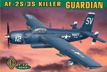 Grumman AF-2S/3S Killer Guardian · ACE 72305 ·  ACE · 1:72