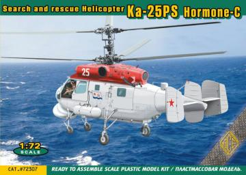 Ka-25PS Hormone-C - Search and rescue Helicopter · ACE 72307 ·  ACE · 1:72