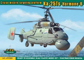 Ka-25Ts Hormone-B Cruise missile targeting platform · ACE 72309 ·  ACE · 1:72