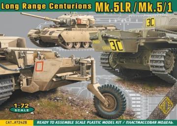 Centurion Mk.5LR/Mk.5/1 w/external fuel tanks · ACE 72428 ·  ACE · 1:72
