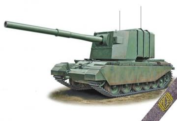 FV-4005 183mm on Centurion hull · ACE 72429 ·  ACE · 1:72