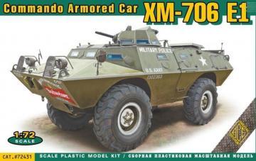 XM-706 E1 Commando Armored Car · ACE 72431 ·  ACE · 1:72