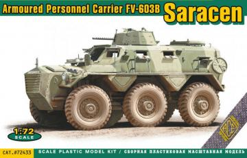 FV-603B Saracen - Armored personnel carrier · ACE 72433 ·  ACE · 1:72