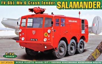 FV-651 Mk.6 Salamander crash tender · ACE 72434 ·  ACE · 1:72