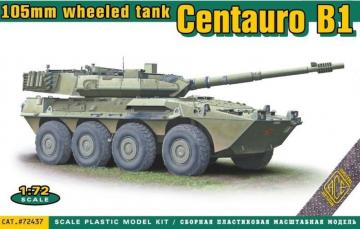 Centauro B1 105mm wheeled tank · ACE 72437 ·  ACE · 1:72