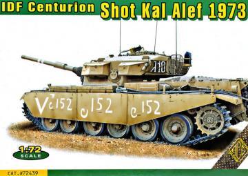 IDF Centurion Shot Kal Alef 1973 · ACE 72439 ·  ACE · 1:72