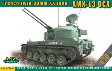 AMX-13 DCA French twin 30mm AA tank · ACE 72447 ·  ACE · 1:72