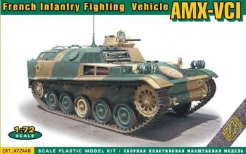 AMX-VCI French Infantry Fighting Vehicle · ACE 72448 ·  ACE · 1:72