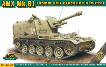AMX MK.61 105mm self propelled howitzer · ACE 72453 ·  ACE · 1:72