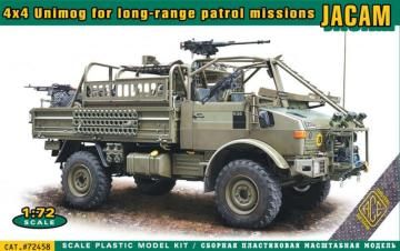 4x4 Unimog for long-range Patrol Missions JACAM · ACE 72458 ·  ACE · 1:72