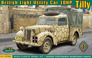 British light utility car 10hp Tilly · ACE 72500 ·  ACE · 1:72
