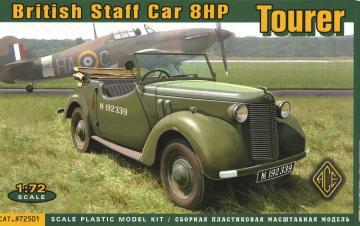 British Staf car 8hp Tourer · ACE 72501 ·  ACE · 1:72