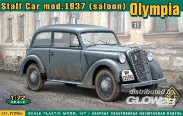 Olympia (saloon) staff car, model 1937 · ACE 72506 ·  ACE · 1:72