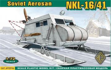 Soviet armored aerosan NKL-16/41 · ACE 72516 ·  ACE · 1:72