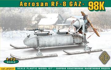 Aerosan RF-8 GAZ-98K · ACE 72517 ·  ACE · 1:72
