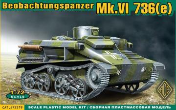 Mk.VI 736(e) Beobachtungspanzer · ACE 72519 ·  ACE · 1:72