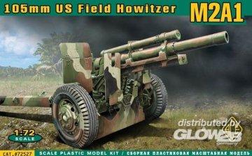 M2A1 105mm U.S. field howitzer · ACE 72527 ·  ACE · 1:72