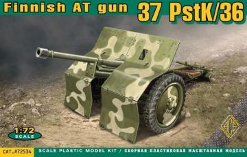 PstK/36 Finnish 37mm anti-tank gun · ACE 72534 ·  ACE · 1:72
