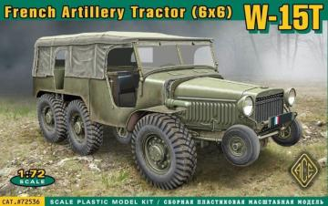 W-15T French WWII 6x6 artillery tractor · ACE 72536 ·  ACE · 1:72