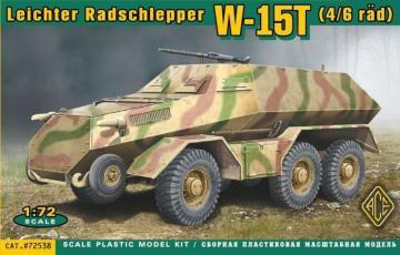 W-15T(4/6rad) Leichter Radschlepper · ACE 72538 ·  ACE · 1:72
