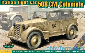508 CM Coloniale Italien light car · ACE 72548 ·  ACE · 1:72