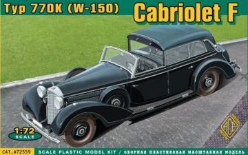 Typ 770K (W-150) Cabriolet F. · ACE 72559 ·  ACE · 1:72