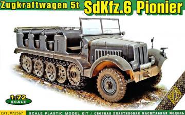 SdKFZ.6 Pionier - Zugkraftwagen 5t · ACE 72567 ·  ACE · 1:72