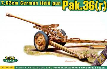 Pak.36(r) German 7.62cm field gun · ACE 72571 ·  ACE · 1:72