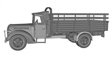 G917T 3t German cargo truck (m.1939 soft cab) · ACE 72575 ·  ACE · 1:72