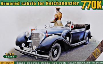 Typ 770K armored cabrio for Reichskanzler · ACE 72577 ·  ACE · 1:72