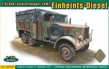 Einheits-Diesel 2.5t 6x6 Lastkraftwagen (LKW) · ACE 72578 ·  ACE · 1:72