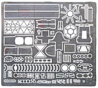 Photo-etched set for Fairey Swordfish, for Frog/NOVO kit · ACE PE219 ·  ACE · 1:72