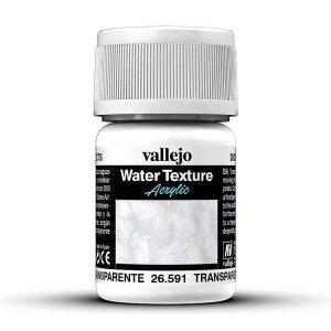 Transparentes Wasser, 30 ml · VAL 26591 ·  Acrylicos Vallejo