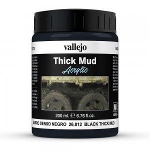 Schlamm, schwarz, 200 ml · VAL 26812 ·  Acrylicos Vallejo