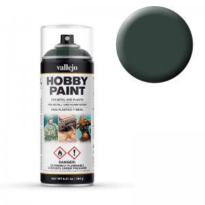 Dark Green, Fantasy, Sprühdose (400ml) · VAL 28026 ·  Acrylicos Vallejo
