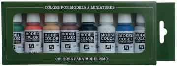 Model Color Set 03: Wargames Basics (8) · VAL 70103 ·  Acrylicos Vallejo
