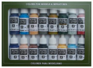 Model Color Set 11: American Civil War (16) · VAL 70111 ·  Acrylicos Vallejo