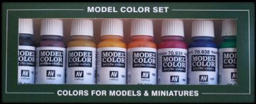 Model Color Set Transparent Colors [8] · VAL 70136 ·  Acrylicos Vallejo