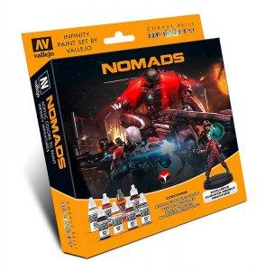 Infinity Nomads - Farbset mit einer Figur · VAL 70233 ·  Acrylicos Vallejo